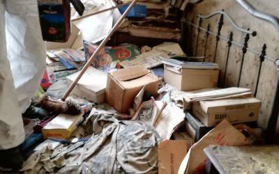 Nettoyage d'un appartement syndrome de Diogène, que faire ?