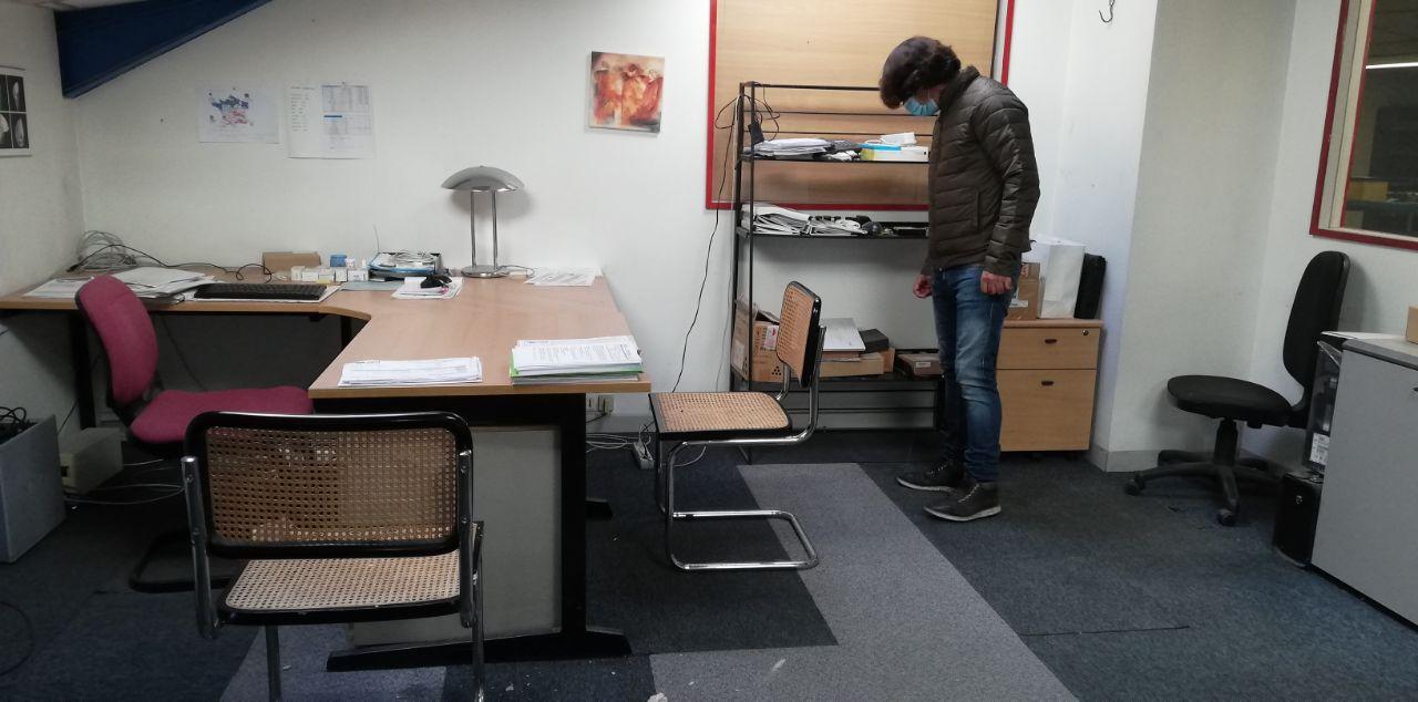 debarras bureaux