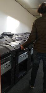 nombreuse imprimantes en panne