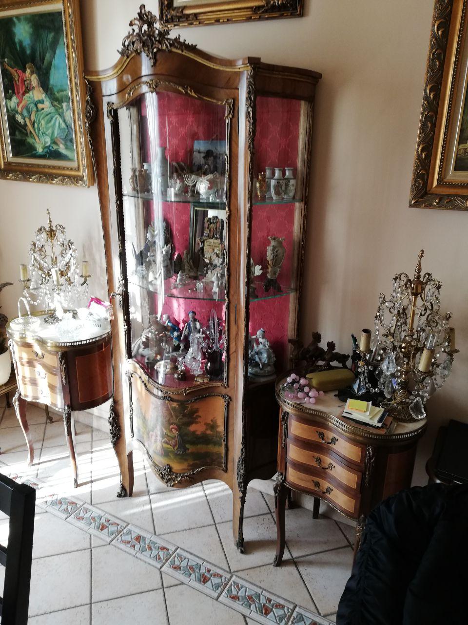 debarras appartement avec antiquités